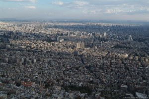 Damascus is a modern, bustling, secular city