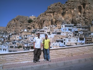 In Maaloula, Syria (author's photo)