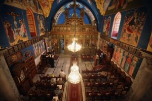 One of the oldest churches in the world (over 1600 years), St. Porphyrius Orthodox church in Gaza.