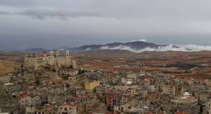 The Christian city of Saidnaya has been under constant rebel threat over the past year. US and Saudi backed rebels have promised to cleanse the region of its 2000-year-old Christian presence.